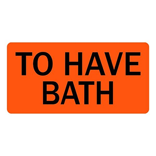 To Have Bath Veterinary Labels (178 Bath)