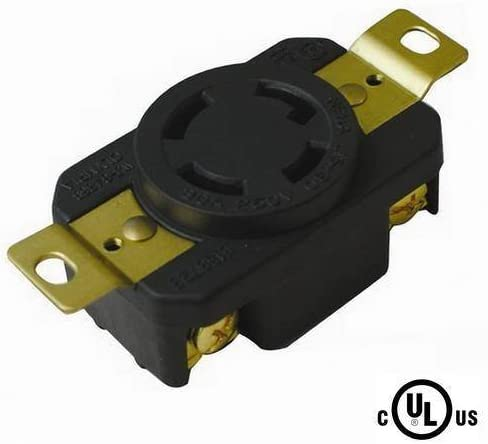 250V cUL Listed Rated for 30A L15-30R Locking Connector