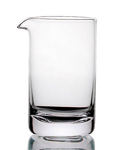Cocktail Mixing Glass - Premium Series - Seamless & Handblown - 550ml (Plain) ()