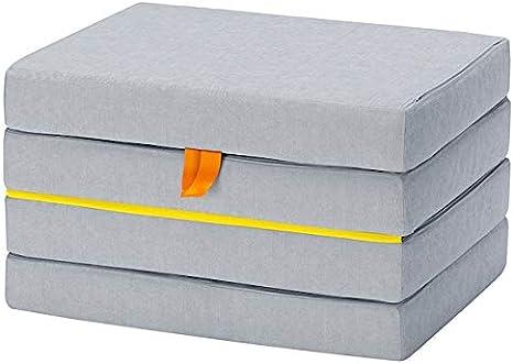 Tok Mark Traders SLÄKT - Puff/colchón plegable (193 x 62 x 9 ...