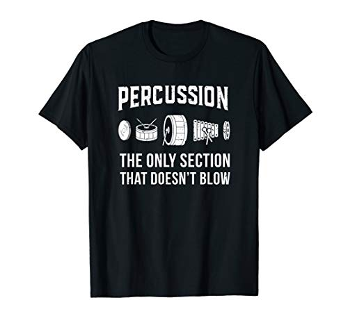 (Marching Band Shirt for Drummers in Percussion Section)