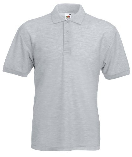 65/35 Piqué Polo, Größe:3XL;Farbe:Heather Grey 3XL,Heather Grey
