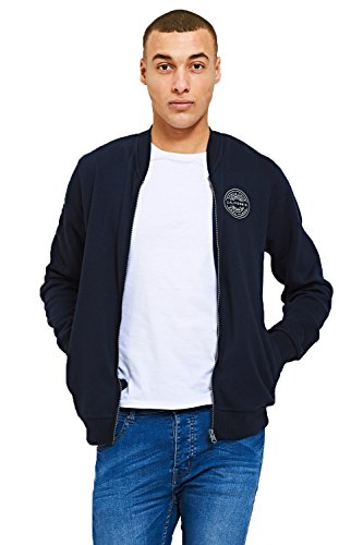 Baseball Felpa Blue Cardigan Uomo Navy Threadbare wtCRFqY