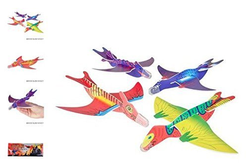 (48) Dinosaur Gliders ~ ASSORTED DESIGNS ~