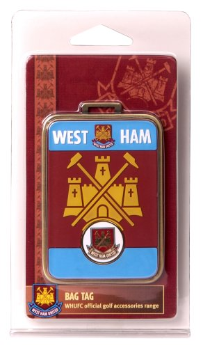 West Ham United F.C. Bag Tag and Marker