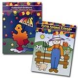 Do A Dot Art Activity Book - Critters & Farm Animals