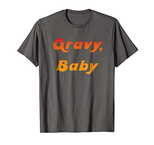Gravy Vintage (70s Retro Slogan Gravy, Baby Vintage Seventies Shirt)