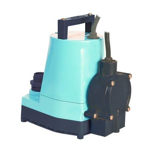 5-ASP-LL 1/6 HP, 1200 GPH - Submersible Utility Pump w/Piggyback Diaphragm Switch & 18 ft. Power