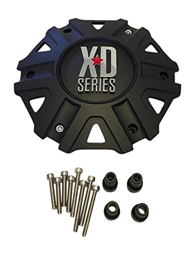 KMC XD Series Monster II 2 CAP M-959 Black Wheel Center (Kmc Wheel Caps)
