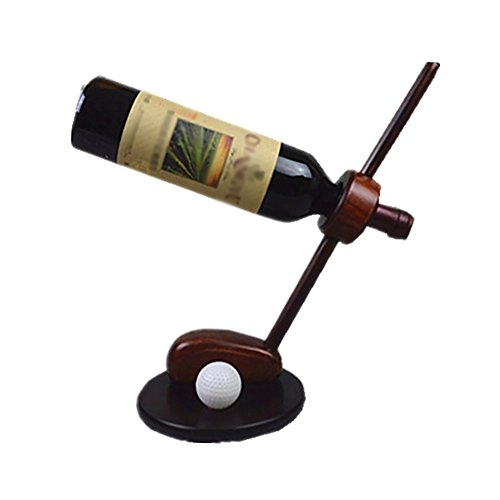 - Wei Zhe- Wine Rack - European Modern Golf-Like Simple Household Wine Glass Holder, Living Room Wine Rack (16.2CMX32CMX3.1CM) Home Wine Rack