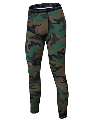 [해외]ChinFun 남자 압축 운동 실행 훈련 레깅스 긴 타이츠 M-XXXL/ChinFun Men`s Compression Workout Running Training Leggings Long Tights M-XXXL