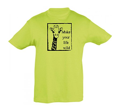 y camiseta La 2store24 Life manzana ni verde infantil ni o para Wild a q8CR8Axwd