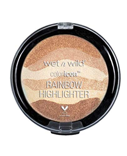 (Pack 3) Wet n Wild Color Icon Rainbow Highlighter - Bronze Over the Rainbow,34913