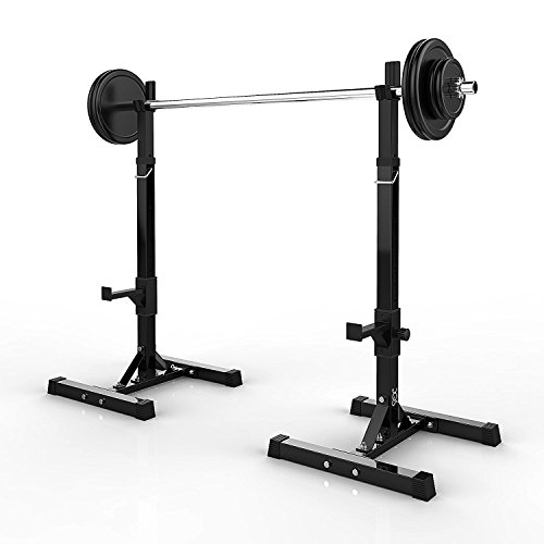sports dqs gym stand free barbell stands rack pair strength racks squat gymhome shop press fitness adjustable portable equipment bench dumbbell of home
