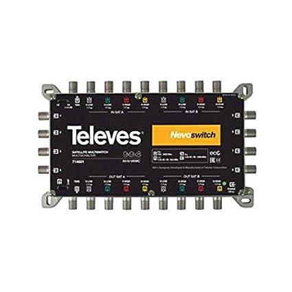 Televes 714601 - Multiswitch nevoswitch 9x9x8 terminal cascada