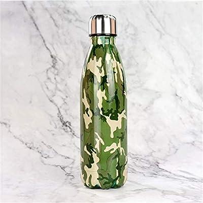Camerlon Botella de Agua de Acero Inoxidable BPA Libre ...