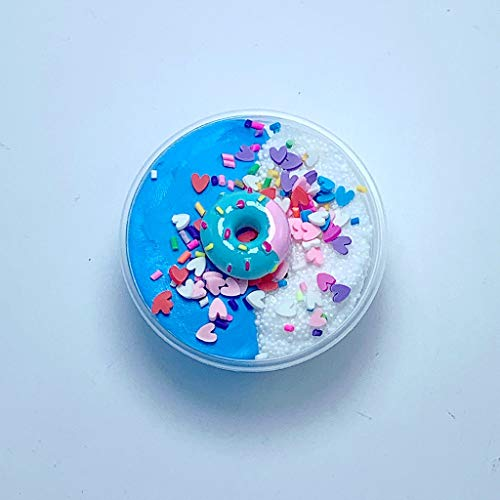 AMOFINY Baby Toys Charms Grain Ice Cream Slime Birthday Cake Slime Kids Relief Stress ()