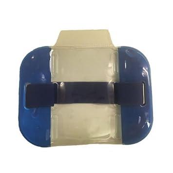 DOORMAN BADGE HOLDER FREE P/&P!!! Security SIA Armband Hi Viz BLUE MARSHALL