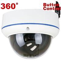 "GW High End 1/3 "" SONY 960H Exview HAD II CCD 360˚ Fisheye Lens 700 TVL OSD Menu Digital WDR Function CCTV Surveillance Security Camera"