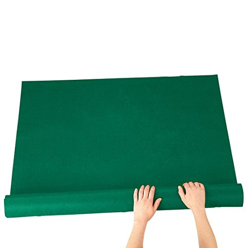 Portable Tabletop Roll Up Green Jigsaw Puzzle Soft Mat - w/Telescoping Inner Storage and Elastic Straps (SM)