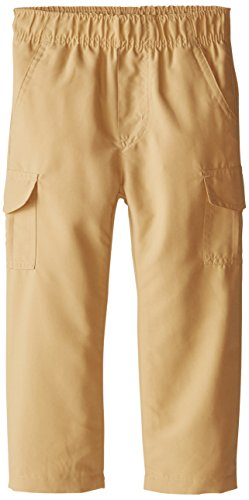 And Wes Willy Pants Boys (Wes & Willy Little Boys' Lined Microfiber Cargo Pant, Khaki, 2T)
