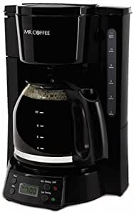 Amazon.com: Mr. Coffee Cafetera programable de 12 tazas ...