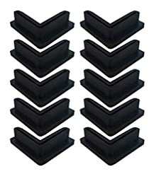 Angle Iron L Shaped Rubber Foot Pads Cov...