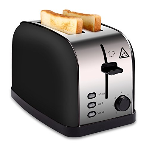 MADETEC 2 Slice Wide Slot Toaster