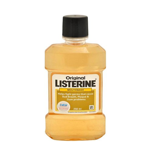 Price comparison product image Listerine Original Mouthwash X 250ml Case of 6 Pack