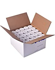 POS1 Thermal Paper Rolls 2-1/4 x 75 ft | 38mm Diameter | fits Verifone vx520 | fits Ingenico iCT220 and iCT250 | CORELESS | BPA Free