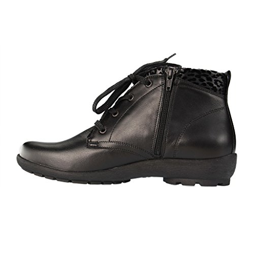 Boots Up 001 589813 Waldläufer Black Women's Lace 897 a7xY7