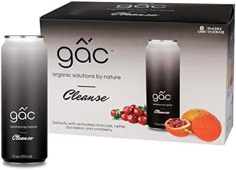 GacLife Gac Superfruit Drink, Cleanse, 12 Oz (8-Pack)