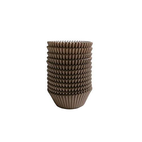 Baking Cups Cupcake Liners, Standard Sized, 300 Count (Coffee)