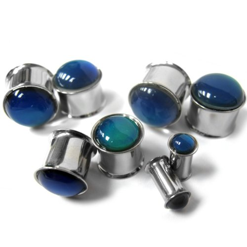 00 double flare metal plugs - 9