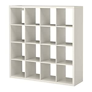 Ikea Kallax Multi Purpose Shelving Unit , Bookcase , Display Case , White , Modern