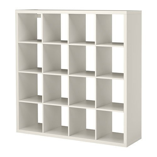 Ikea Kallax Multi Purpose Shelving Unit , Bookcase , Display Case , White , Modern by Ikea