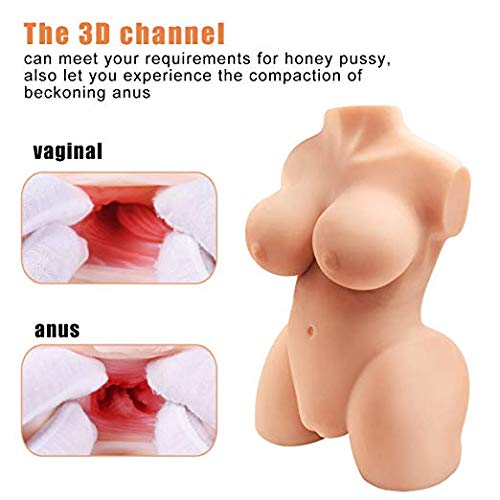 Lifelike Silicone Adult Toy Dolls love doles for men Realistic PremiumTPE Doll Torso Adult Toys by Happy Times (Image #5)