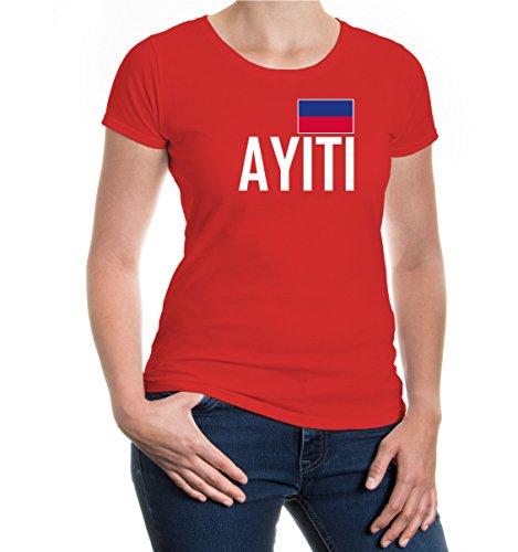 buXsbaum Girlie T Shirt Haiti