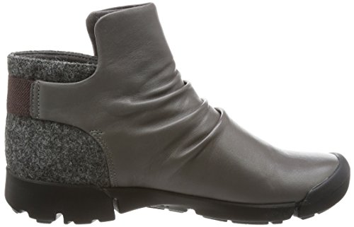 Clarks Damen Tri Pearl Boots grey leather (26127228)
