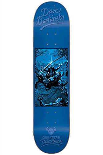 Pop Art Skateboard Deck (Dark 10012541 Throwback 2 Dave Bachinsky .0 Deck Skateboard, Dave Bachinsky, Size 8.0)