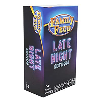 Family Feud Late Night Edition Adult Party Quiz Game: Toys & Games