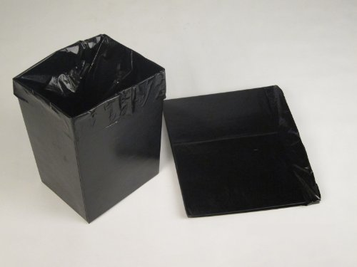 OnlineEEI Disposable Waste Baskets w 3 Liners, Box of 60 (Baskets For Fundraisers)