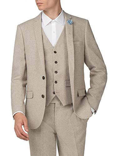 To 48r Harry Suit Natural Brown Men's In 38r Jacket wr8rAqn0Z
