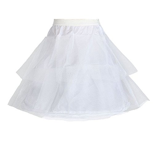 Edress Girls' Petticoat Full Slip Flower Girl Crinoline -