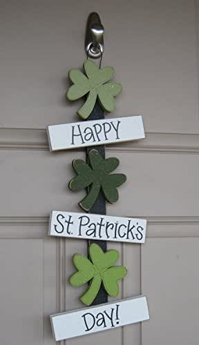 Happy st patricks day thoughts shamrock for St patricks day decorations for the home