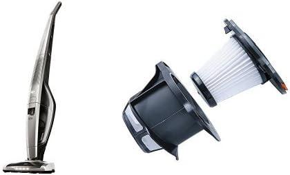 Pack AEG CX8-2-75MG Power Aspiradora escoba con batería de Litio TurboPower de 28,8 V, color gris + AEG AEF142 (filtro extra): Amazon.es: Hogar