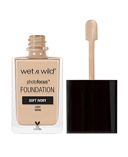 wet n wild Photo Focus Foundation, Soft Ivory, 1 Fluid Ounce