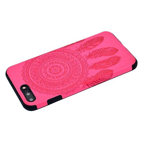 "inShang iPhone 6 Plus iPhone 6S Plus 5.5"" Funda y Carcasa para iPhone 6 Plus iPhone 6S Plus 5.5 inch case iPhone 6+ iPhone 6S+ 5.5 inch móvil, Ultra delgado y ligero Material de TPU, carcasa posterior Rose chimes"
