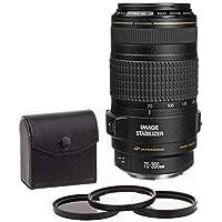 Canon EF 70-300mm f/4-5.6 IS USM Lens -USA- BUNDLE w/58mm Kit (UV/CPL/ND2)