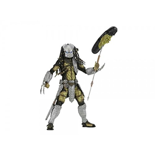 "NECA Predator - 7"" Scale Action Figure - Series 17 AvP Youngblood Action Figure"